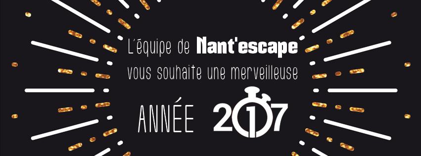 Voeux 2017 - Escape Game - Nantes - Nant'escape