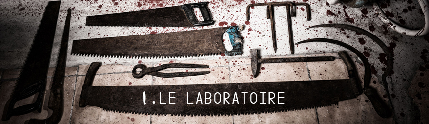 Escape game horreur Nantes : Le laboratoire
